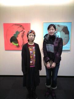 岡田佳子さん絵画展